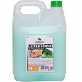 Mydło glicerynowe w pianie MELON/OGÓREK 5L (1szt)