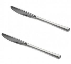 Noże metalizowane 18,5cm PAPSTAR (50szt)