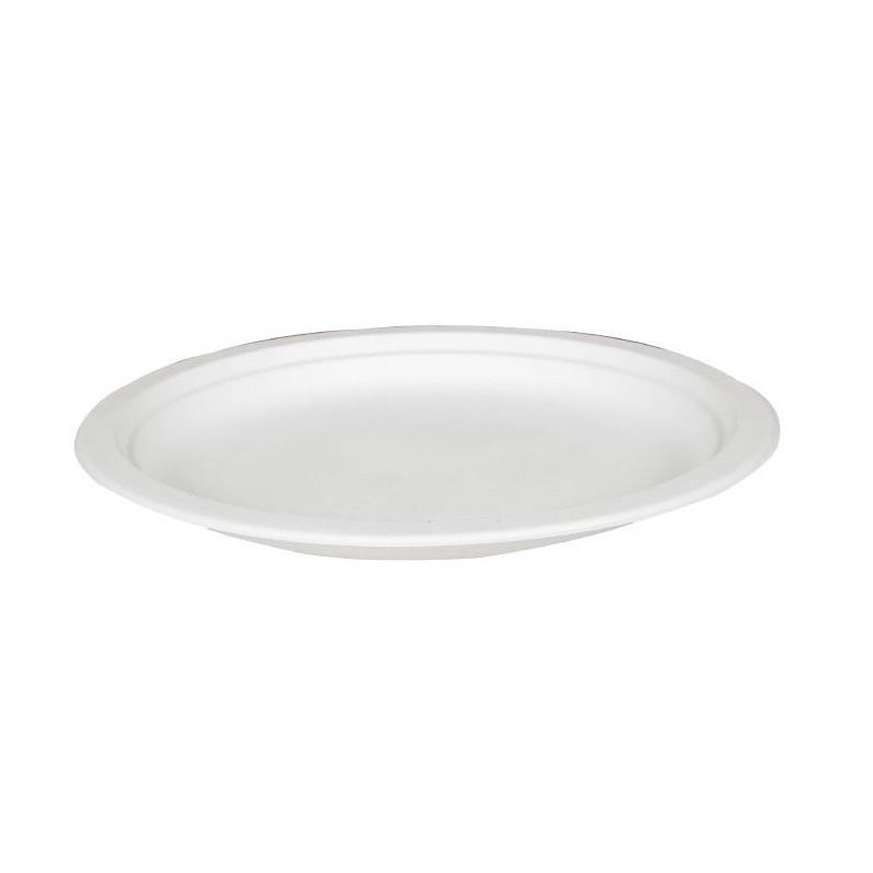Talerz okrągły 26cm biały Abena (50szt)