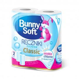 Ręczniki papierowe Bunny Soft 2-w (2rolki)
