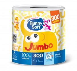 Ręcznik papierowy Bunny Soft Jumbo biały 2-w (1szt)