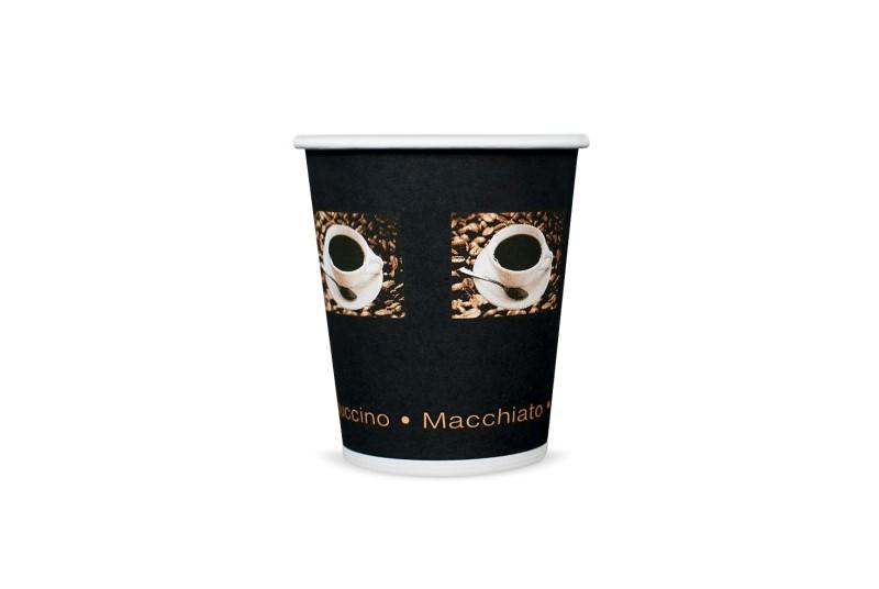 Kubek papierowy kawa 200/250ml (50 szt