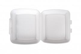 Box obiadowy niedzielony biały (125 szt)