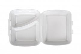 Box obiadowy dwudzielny biały (125 szt)