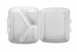 Box obiadowy trójdzielny biały (125 szt)