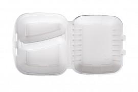 Box obiadowy dwudzielny biały (160 szt)