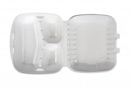 Box obiadowy trójdzielny biały (160 szt)