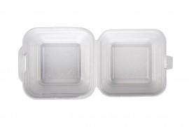 Box hamburger mały biały (150 szt)