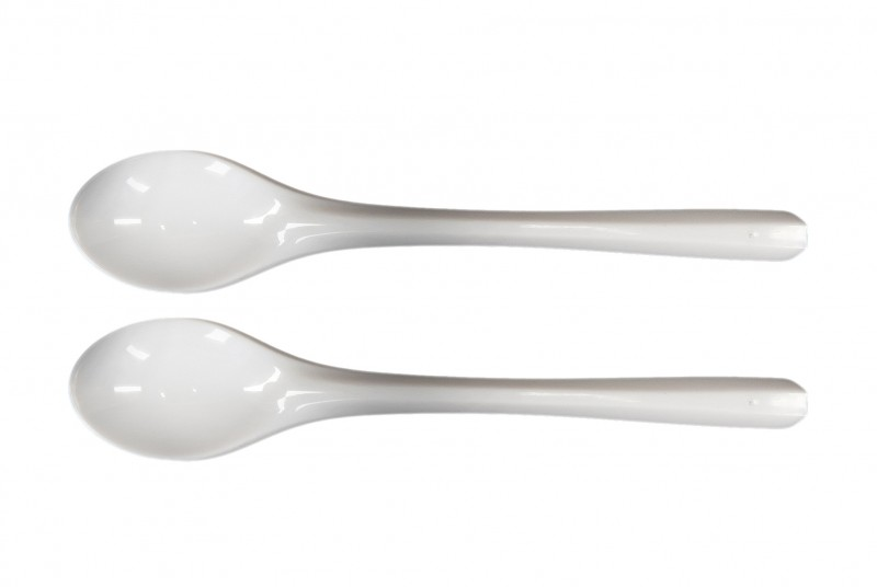 Łyżeczka PS mała biała (100 szt)