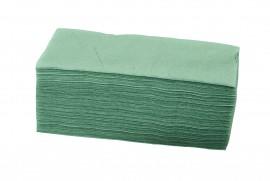 Ręcznik ZZ składany zielony (20x200listków)