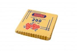 Serwetki ząbkowane żółte SABA(200szt)