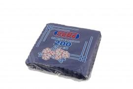 Serwetki ząbkowane granatowe SABA(200szt)