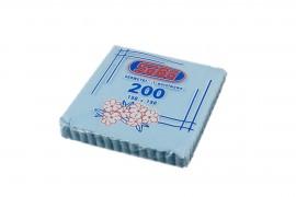 Serwetki ząbkowane niebieskie SABA(200szt)