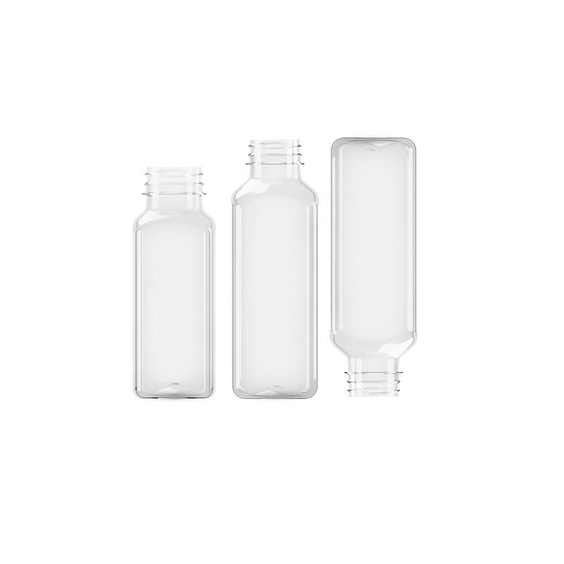 Butelka kwadratowa PET 250ml 38mm (200szt)