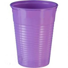 Kubek plastikowy fioletowy 200ml (100szt)