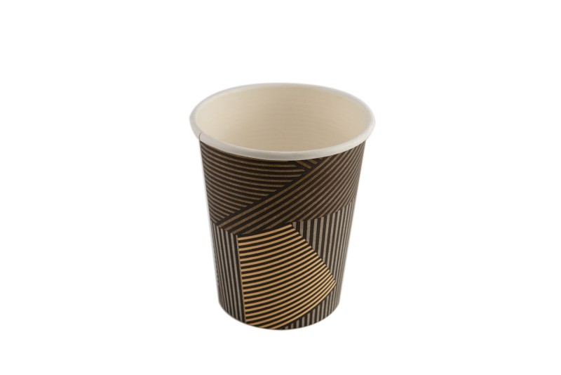 Kubek papierowy LINES 200/250ml (50szt)