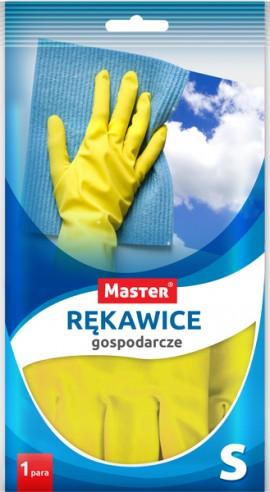 Rękawice gumowe S (1para)