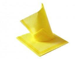 Serwetka flizelinowa żółta z paskami 38x38 (50szt)