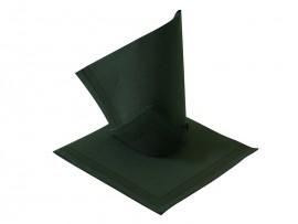 Serwetka flizelinowa czarna z paskami 38x38 (50szt)