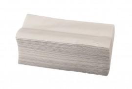 Ręcznik ZZ składany biały (20x200listków