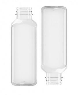 Butelka kwadratowa PET 500ml 38mm (105szt)