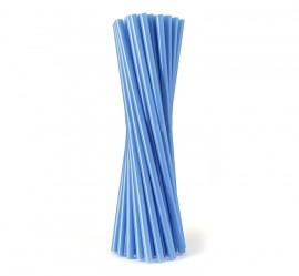 Słomka plastikowa niebieska SHAKE (500szt)