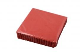 Serwetki ząbkowane15x15 czerwone (200szt)