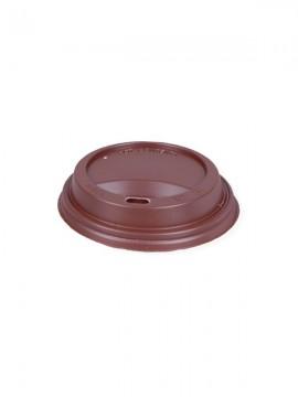 Wieczko plastikowe 90mm brązowe (100szt)