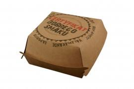 Pudełko box hamburger certyfikat (50szt)