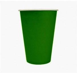 Kubek papierowy 180ml zielony (24szt)