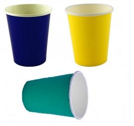 Kubek papierowy 200ml mix 3 kolory (50szt)