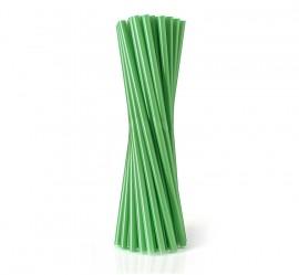 Słomka plastikowa zielona SHAKE (500szt)